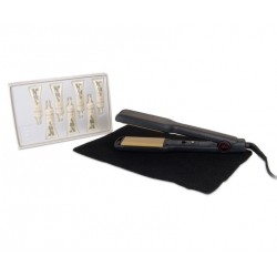 GHD wide hair straightener and GHD indulgenge